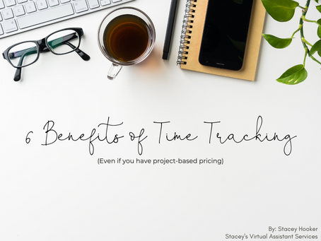 6 Benefits of Time Tracking (Even if you have project-based pricing)