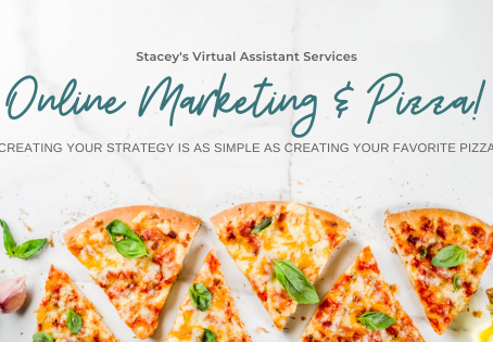 Online Marketing & Pizza! Creating your strategy is as simple as creating your favorite pizza.
