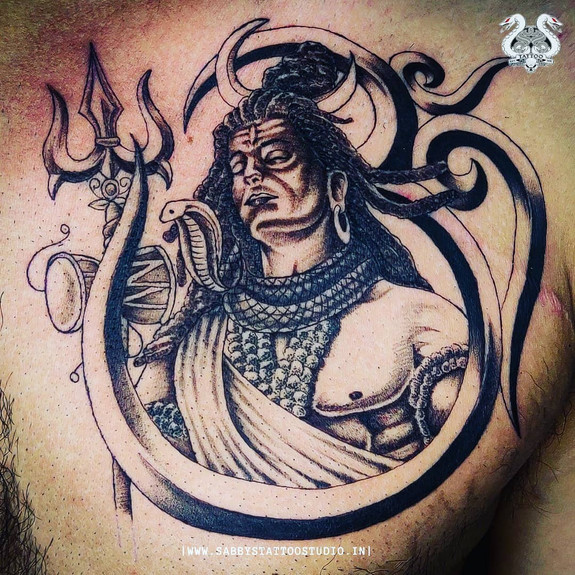 He's the one who resides in all of us. He's The Auspicious one  Shiva tattoos are those tattoos we take seriously and hold close to our art.