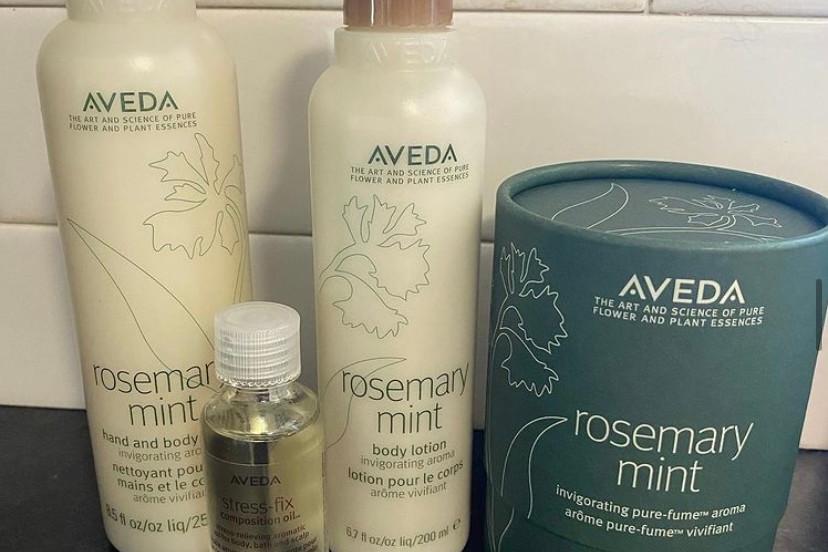 Rosemary Mint Body products- Aveda