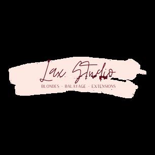 LAX Studio Logos Transparent background.