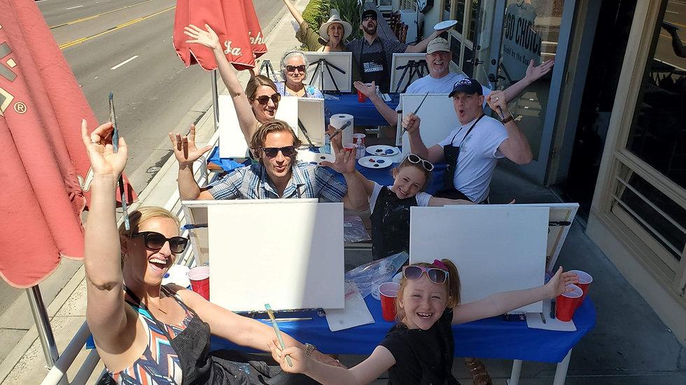 Paint Party | Paint, Sip & Sushi