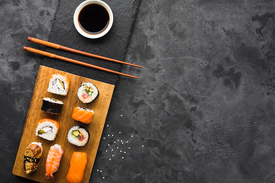 Beginning of Good Choice Sushi Website. Welcome