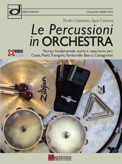Paolo Cimmino, Igor Caiazza - LE PERCUSSIONI IN ORCHESTRA