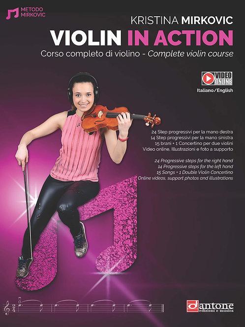 Kristina Mirkovic - VIOLIN IN ACTION
