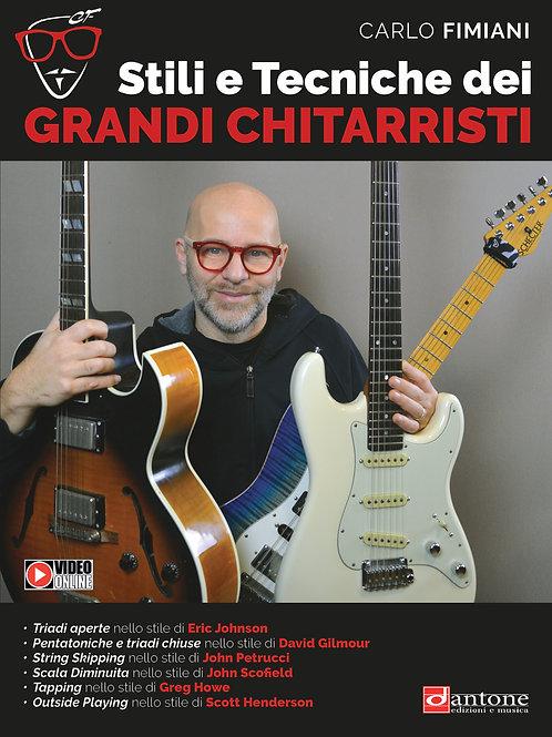 Carlo Fimiani - STILI E TECNICHE DEI GRANDI CHITARRISTI