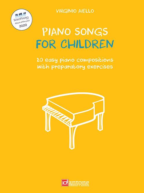 Virginio Aiello - PIANO SONGS FOR CHILDREN