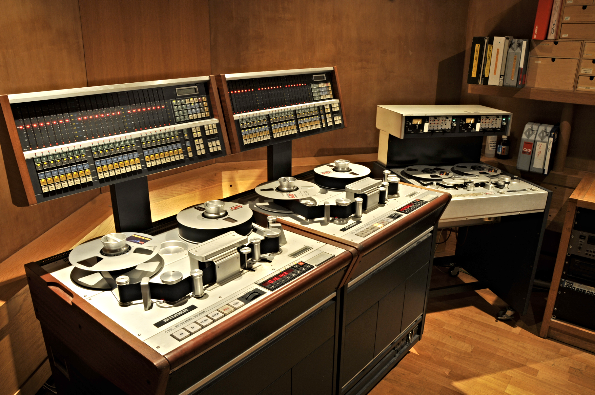 Studio 1 Machine Room | Konk Studios