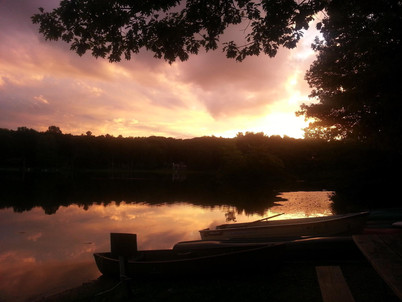 Sunset July