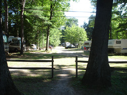 Campground path