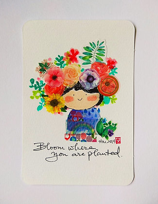 Flower Doll (Bloom where you are planted)