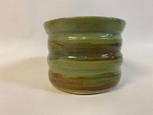 Handmade Porcelain Green Pen Holder