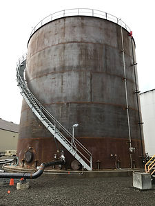 Above Ground Storage Tank Platform, Stair, & Handrail Repairk