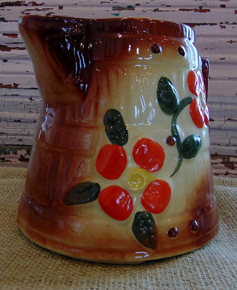Bisque Ceramic Pitcher