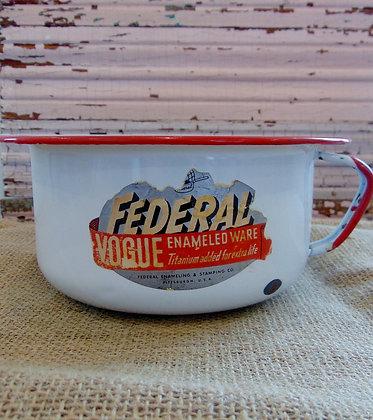 Medium Enamel Pot