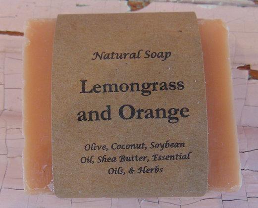 Handmade Soap - Lemongrass & Orange