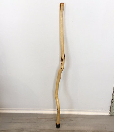 Diamond Willow Cane with Rock