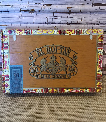 Roi-Tan Cigar Box