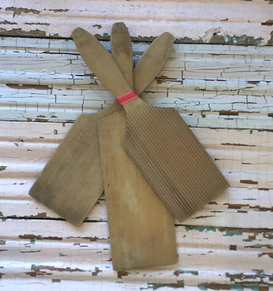 Wooden Paddles (set of 3)