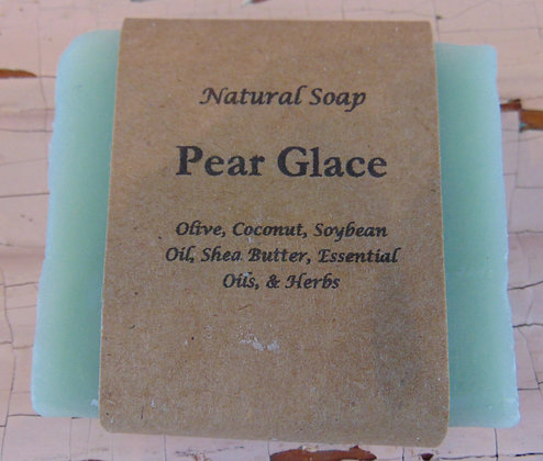 Handmade Soap - Pear Glace
