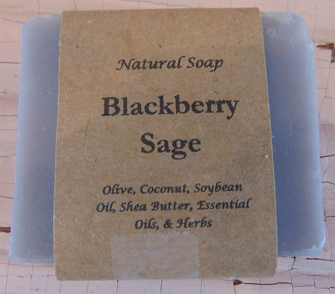 Handmade Soap - Blackberry Sage