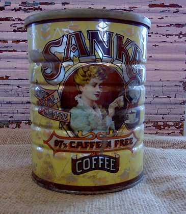 Vintage Sanka Coffee Can