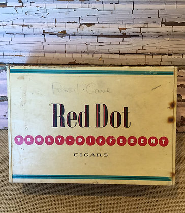 Red Dot Cigar Box