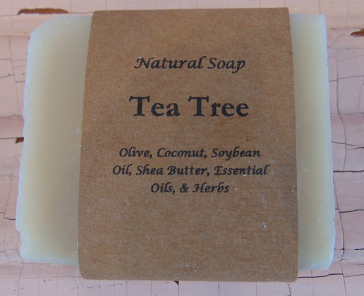 Handmade Soap - Tea Tree