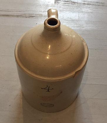 Red wing crock jug