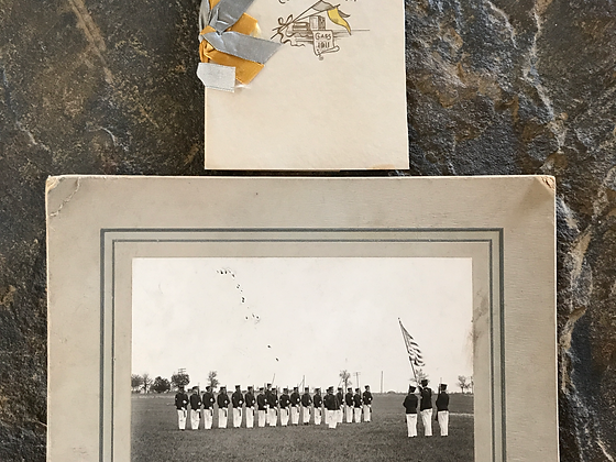 1911 Kearney Nebraska Military Commencement