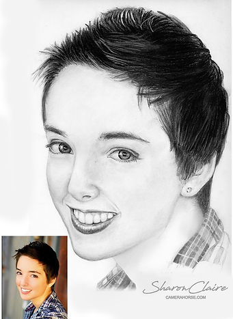 Custom Pencil Drawing from your photo
