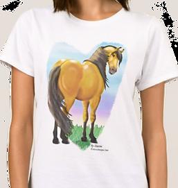 Dun Spirit Horse T-Shirt