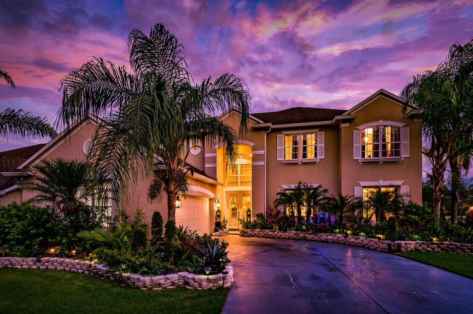 Twilight Real Estate Photo