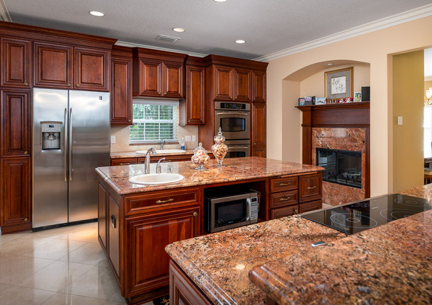 Lake Cooper Kitchen with Stove Top