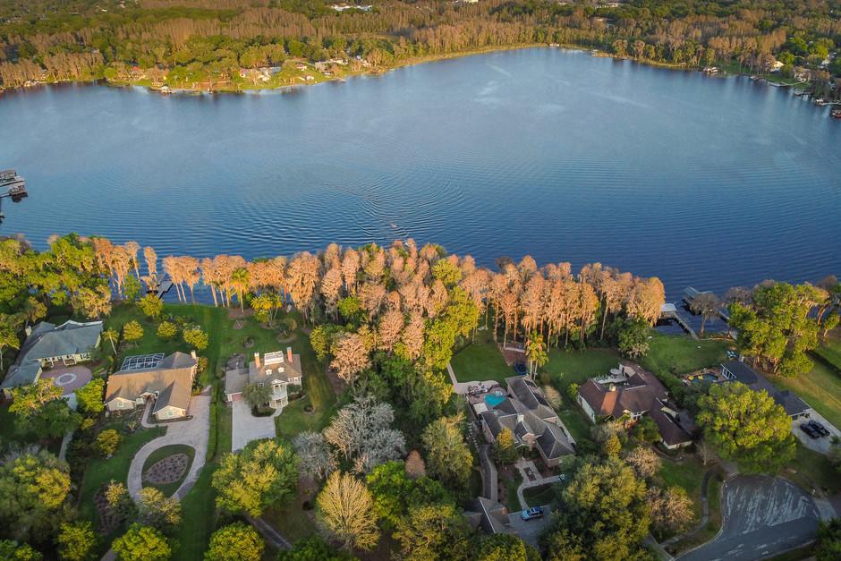 Lake Cooper Drone Photo