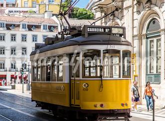 Photographies sur le thème Tramway à Lisbonne