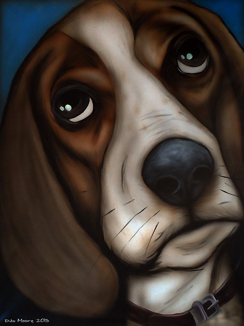 Beagle Print by Dan Moore