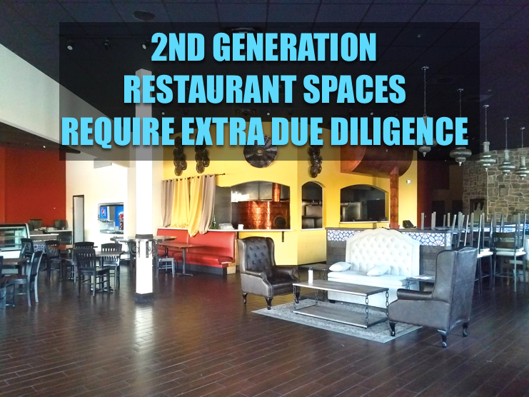 2nd generation restaurant space