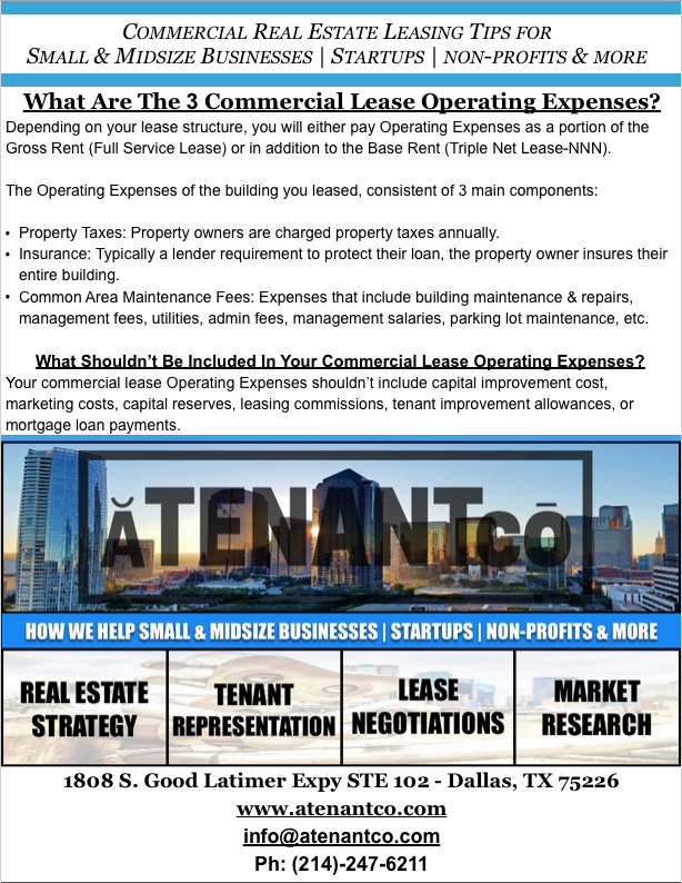 Commercial Real Estate Leasing Tips for Small and Medium Businesses | Startups | Non Profits | Restauranteurs | Dental Practices
