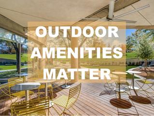 IT MATTERS FRIDAYS: Office Building Outdoor Amenities Matter