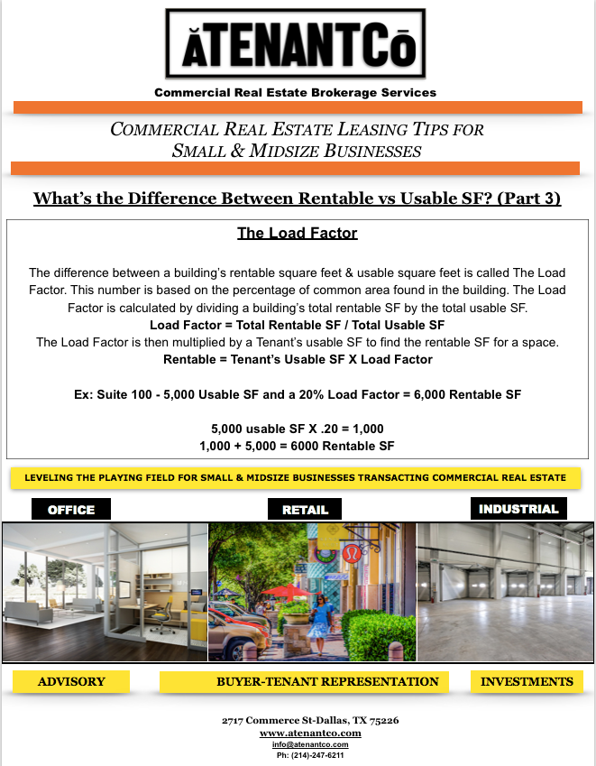 commercial real estate leasing tips