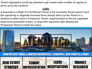 Be Informed Tuesdays: Commercial R.E. Leasing Tips for Small Midsize Businesses |Startups |Non-Profi