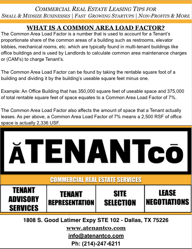 ATENANTco Commercial Real Estate| Leasing Office Space Dallas | Leasing Retail Space Dallas | Fort Worth | Leasing Warehouse Space Dallas | Fort Worth | Franchisee Representation Dallas