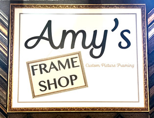 Amy's Frame Shop: Helping Preserve Your Memories