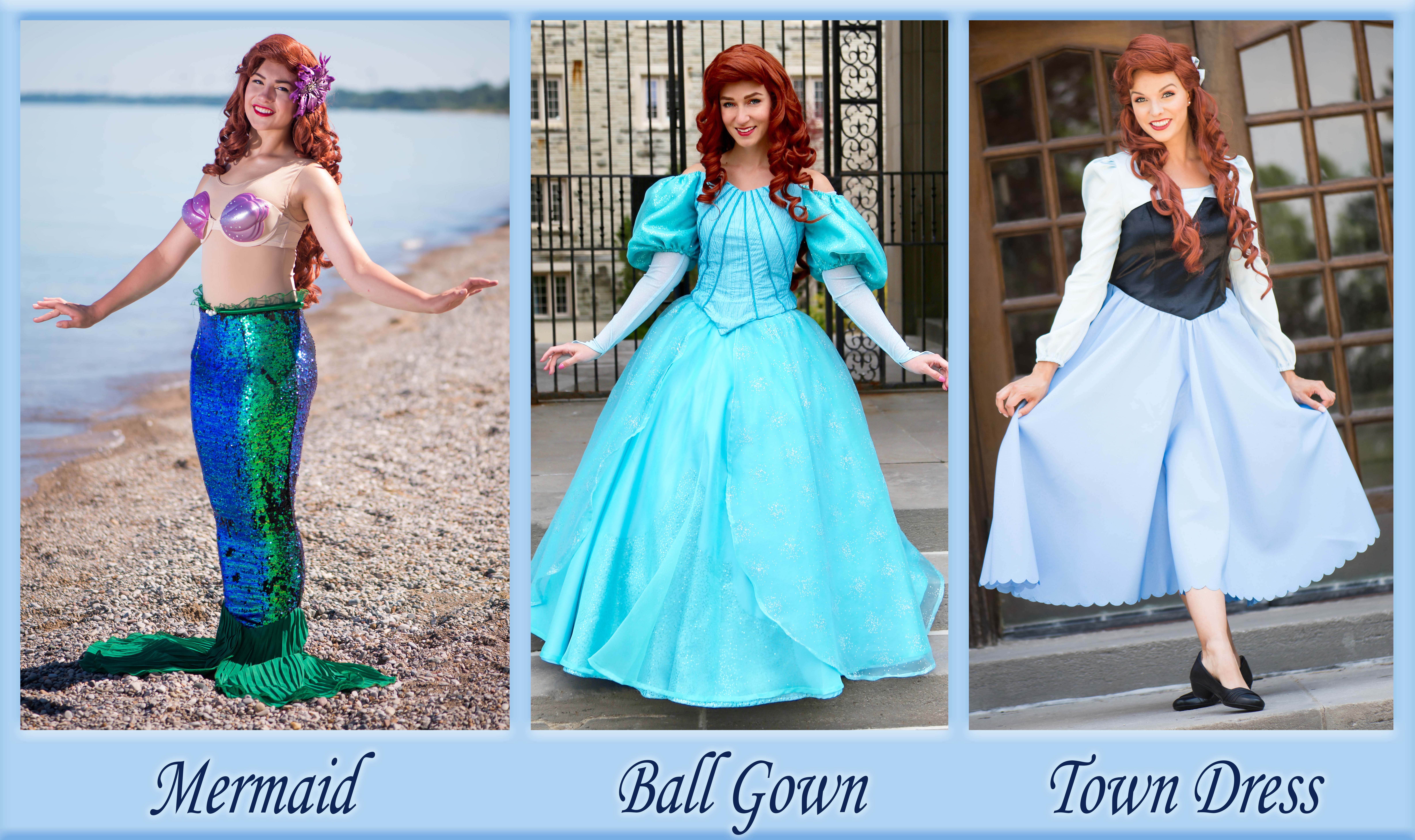 The Little Mermaid Options