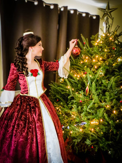 Belle's Christmas Dress
