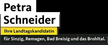 Petra Schneider Ihre Landtagskandidatin für Sinzig, Remagen, Bad Breisig und das Brohltal.