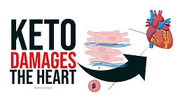 Ketogenic diets inhibit mitochondrial biogenesis and induce cardiac fibrosis