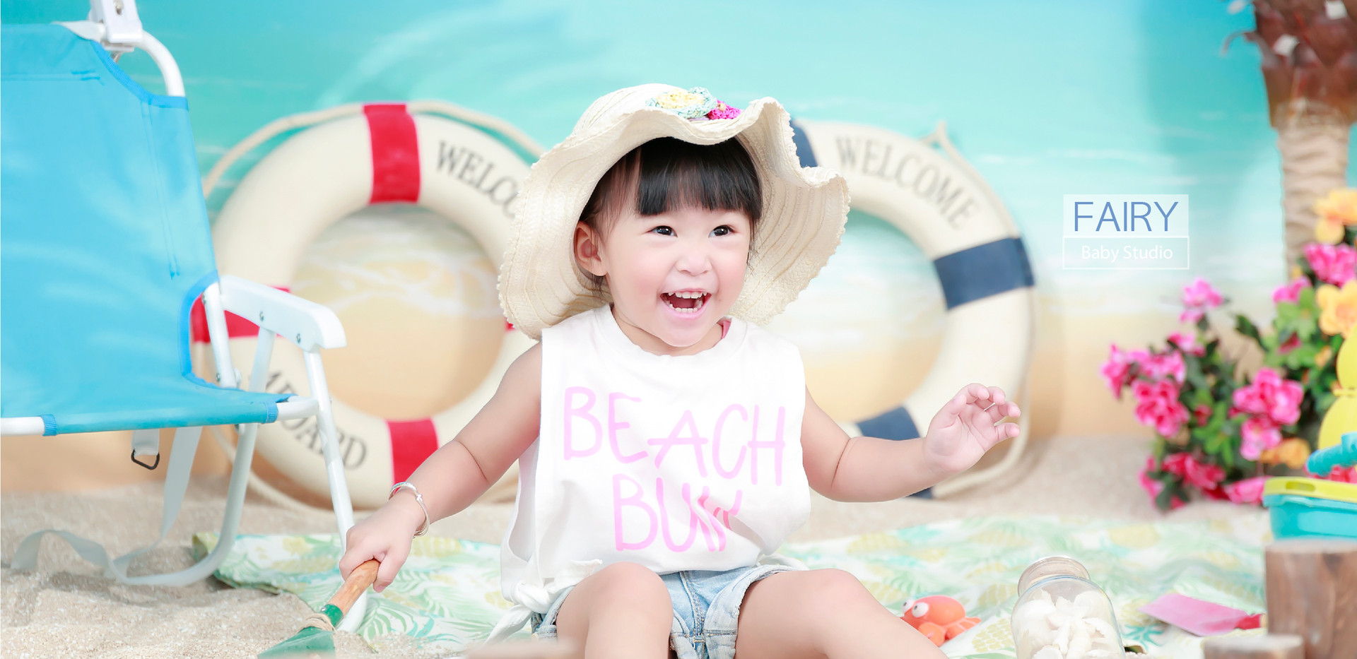 夏日海灘風