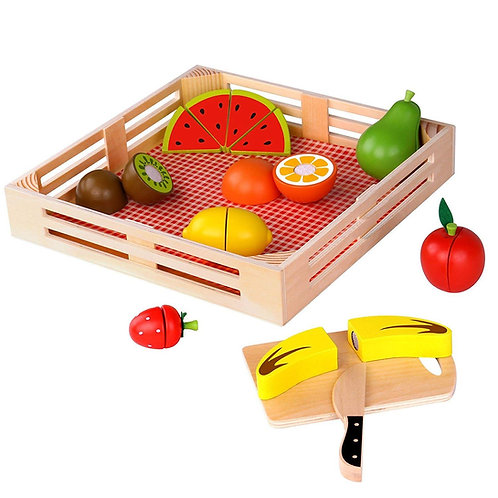 Set De Alimentos canasto Frutas